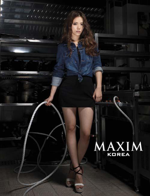 Parade Pose Seksi Bintang Korea di Majalah Maxim