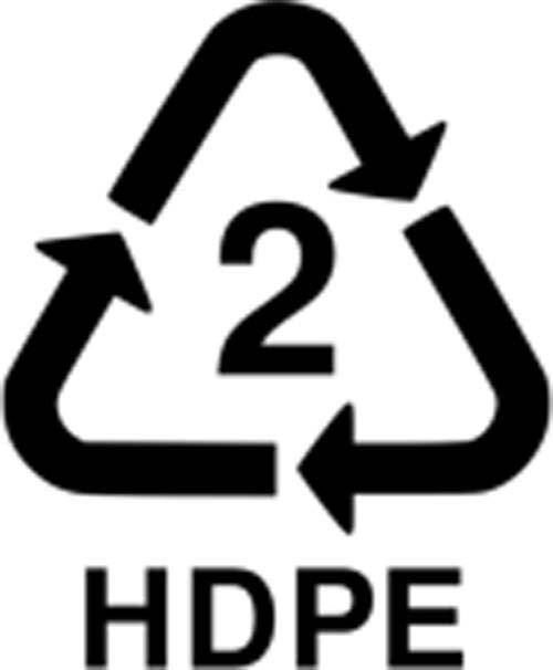 Mengenal Arti 8 Kode Pada Wadah Plastik: HDPE