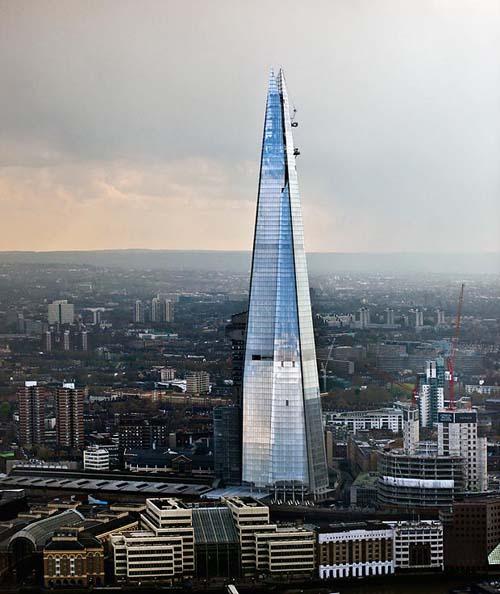 The Shard, gedung tertinggi di Inggris
