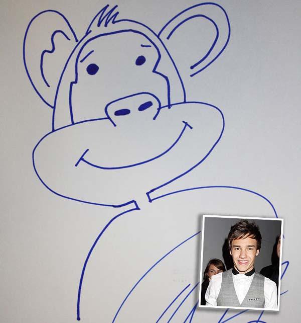 Duh! Liam Payne 'One Direction' Disamakan dengan Monyet: Liam