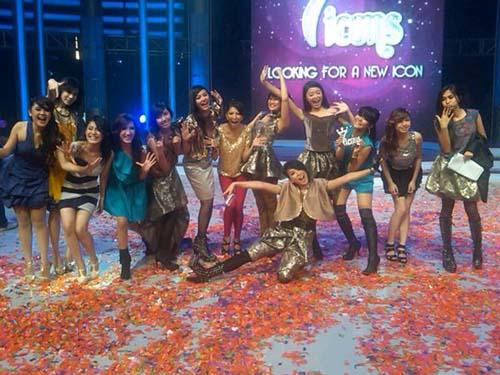 Formasi baru girlband 7Icons