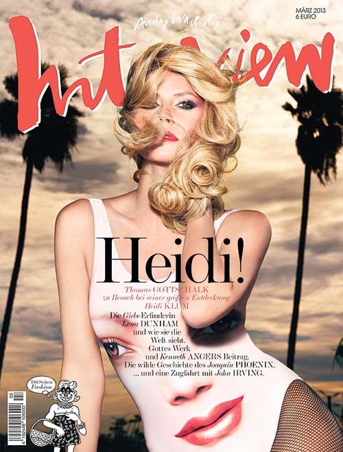 Heidi Klum Majalah Interview