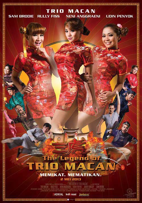 Poster The Legend Of Trio Macan