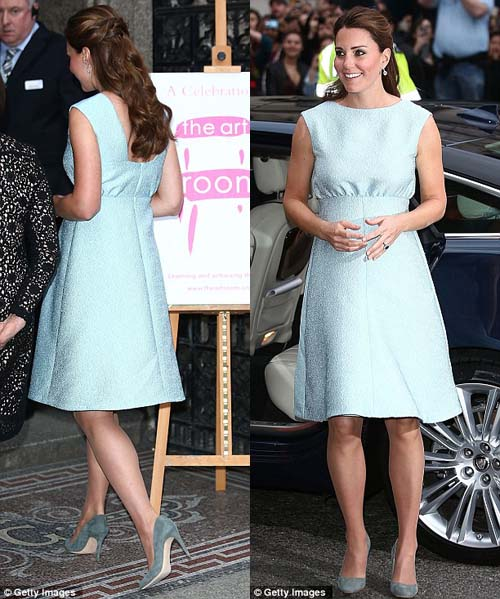 Busana hamil Kate Middleton