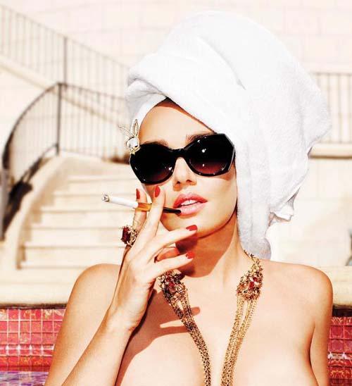 Tamara Eccleston majalah Playboy