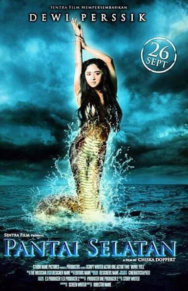 Poster film Pantai Selatan