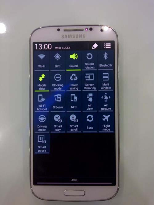 Mengenali Samsung Galaxy S4 Asli apa Palsu: Notifikasi Bar