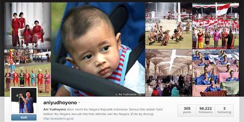 Foto dituduh Palsu, Ibu Ani Yudhoyono Marah di Instagram