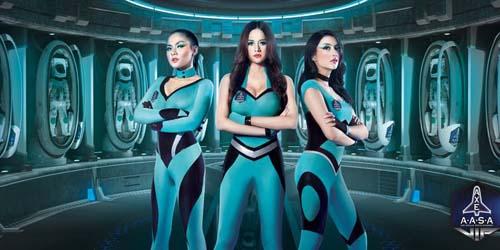 Iklan Seksi Axe Aura kasih, Tyas Mirasih dan Vicky Shu