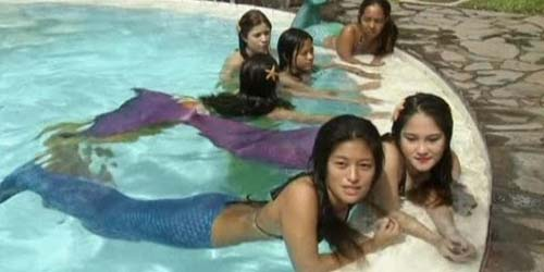 Sekolah Renang Ala Putri Duyung di Filipina