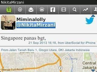 Nikita Mirzani Singapore