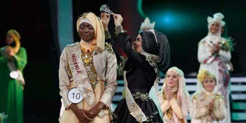 Obabiyi, Juara World Muslimah Akan Bertemu dengan Pemenang Miss World 2013