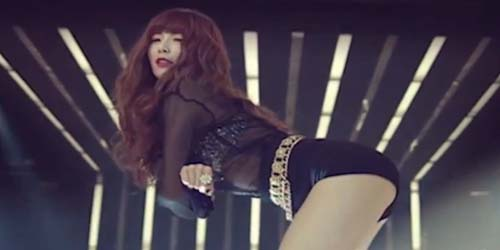 Penampilan Dance Seksi HyunA 4Minute di Video Latihan