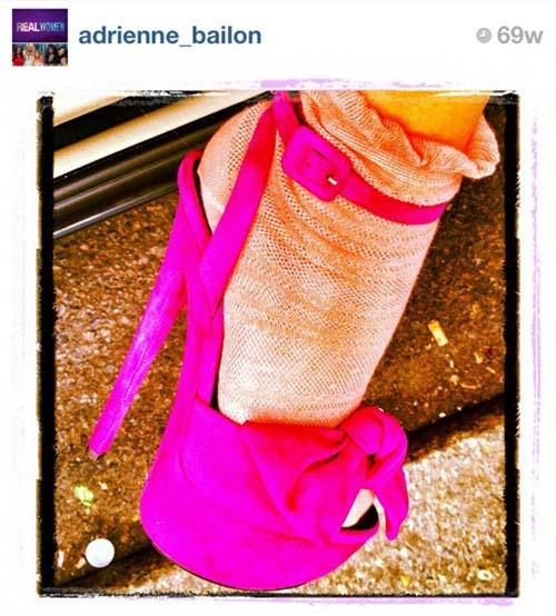 10 Foto Sepatu Selebriti Terbaik di Instagram: Adrienne Bailon