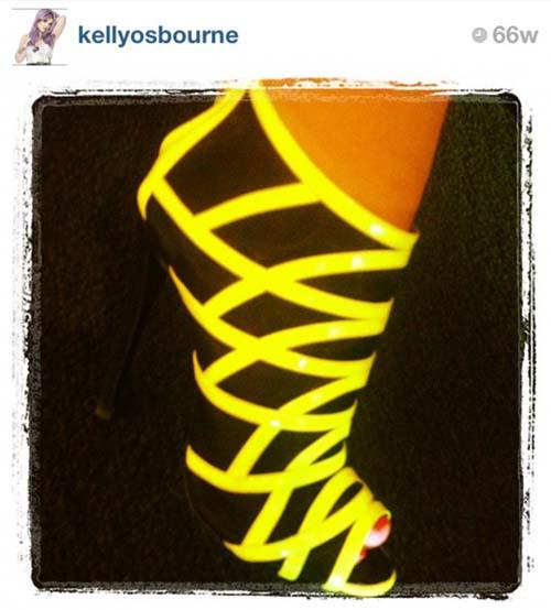 10 Foto Sepatu Selebriti Terbaik di Instagram: Kelly Osbourne