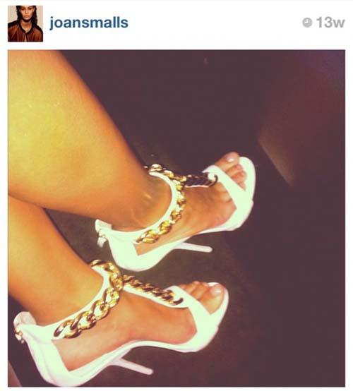10 Foto Sepatu Selebriti Terbaik di Instagram: Joan Smalls