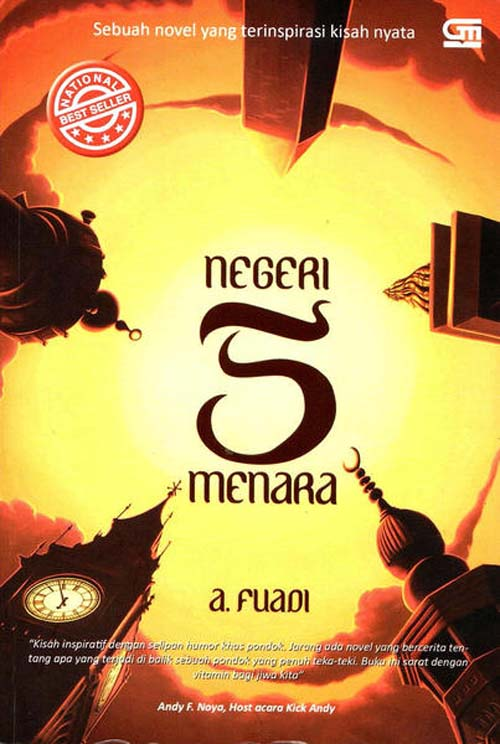 Novel Inspiratif Indonesia yang Harus Dibaca!: Negeri 5 Menara