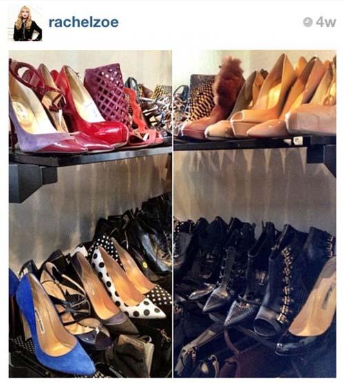 10 Foto Sepatu Selebriti Terbaik di Instagram: Rachel Zoe