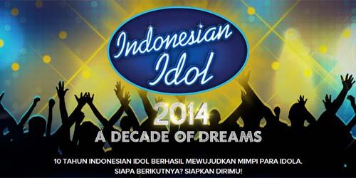 Jadwal Audisi Indonesian Idol 2014