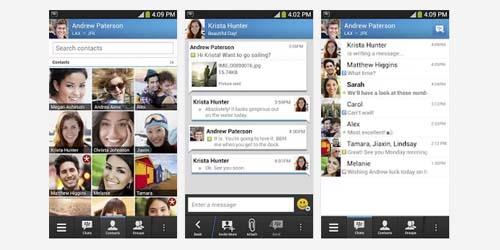 Update Terbaru BlackBerry Messenger for Android, Chatting dengan BBM ...