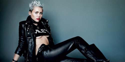 5 Foto Seksi Miley Cyrus di Twitter yang Kontroversial