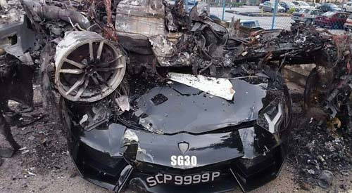 Kecelakaan Lamborghini Malaysia