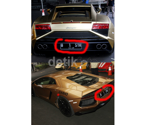 Lamborghini Syahrini
