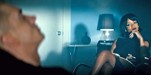Eminem jadi Pasien Psikolog Seksi Rihanna di Video The Monster