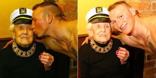 Doris Deahardie, Nenek ini Sewa Penari Telanjang di Ulang Tahunnya ke ...