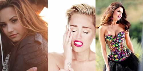 Give Your Heart A Wrecking Love Song - Kolaborasi Selena Gomez, Demi Lovato dan Miley Cyrus
