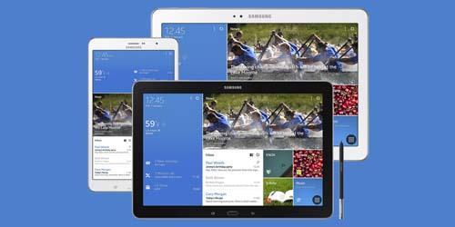 Samsung Pamerkan Galaxy NotePRO dan TabPRO di CES 2014