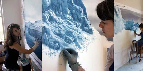 Chasing The Light, Lukisan Gunung Es yang Tampak Nyata!