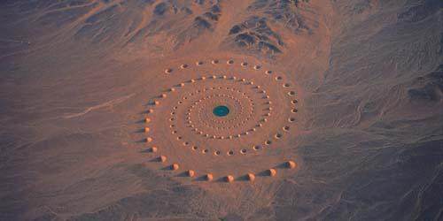 Pola Spiral Misterius di Mesir Terekam Google Earth