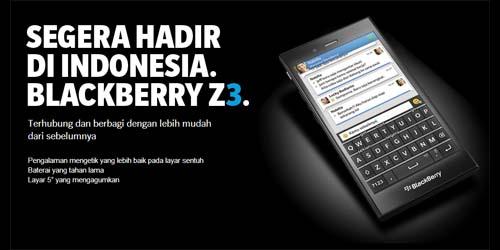 Wujud, Fitur, dan Spesifikasi BlackBerry Jakarta (Z3)