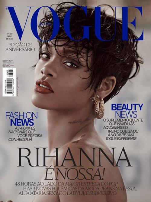 Rihanna Vogue Brasil