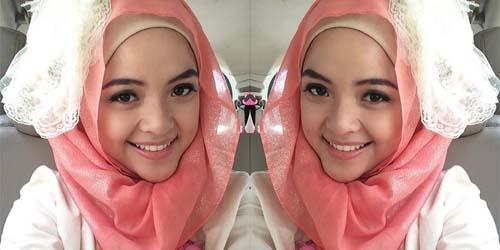 Foto Cantik Selfie Hijab Tasya Kamila