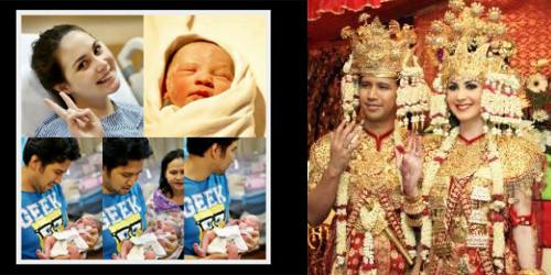 ... Minggu (13/4/2014), Arumi baru saja melahirkan seorang bayi perempuan