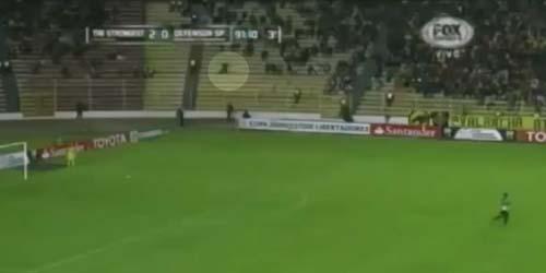 Video Penampakan Hantu di Pertandingan Sepak Bola