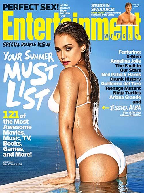 Jessica Alba Entertainment Weekly