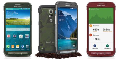 Samsung Galaxy S5 Active, Ponsel Tangguh Tahan Banting