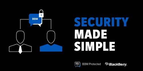 BBM Protected Lindungi Pesan BlackBerry Messenger