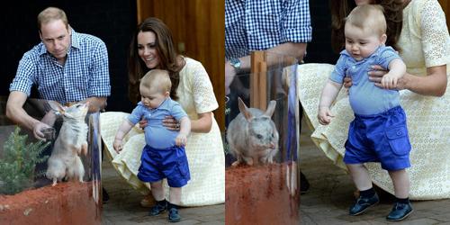 (FOTO) Kate Middleton: Pangeran George Sudah Bisa Berdiri Sendiri