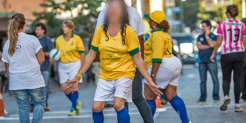 PSK Brasil Gelar Pertandingan Sepak Bola Bugil di Piala