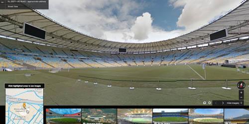 Serunya Nonton Piala Dunia 2014 dengan Google Street View