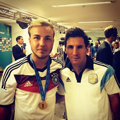 Mario Gotze - Lionel Messi