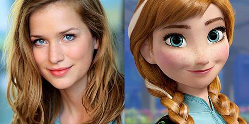 Elizabeth Lail - Putri Anna - 3 Tokoh Frozen Versi Dunia Nyata