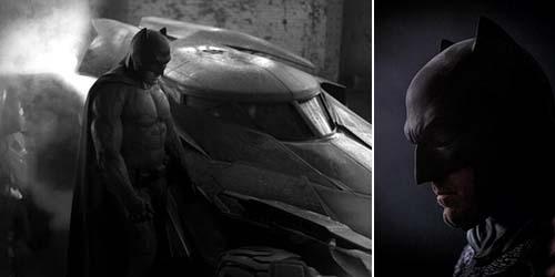 Foto Close Up Ben Affleck jadi Batman di Batman V Superman: Dawn of Justice