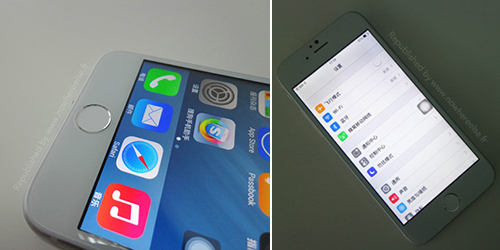 Replika iPhone 6 bersanding Samsung Galaxy S3 @nowhereelse.fr