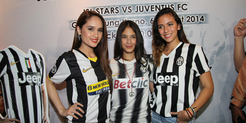 Pevita Pearce, Cinta Laura dan Nadine Alexandra Tak Sabar Ketemu Pemain Juventus