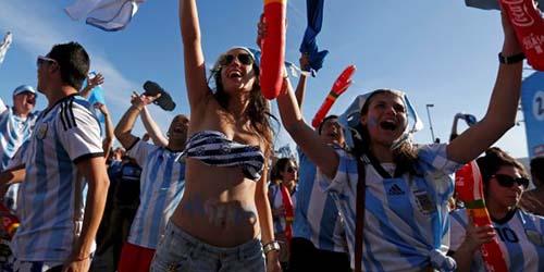 Prediksi Belanda vs Argentina? Cortana: Argentina Menang